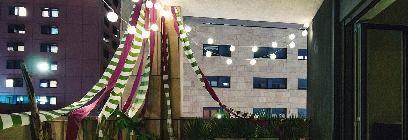 Arredo Terrazzo Idee In Stile Tropicale Luminal Park