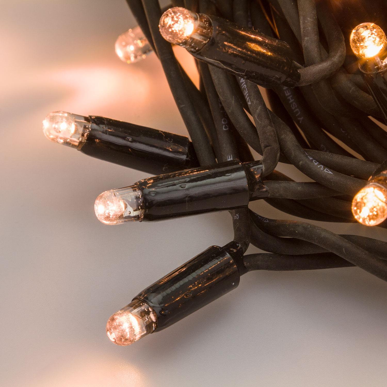 Guirnalda de luces profesionales con MaxiLED y cables de caucho