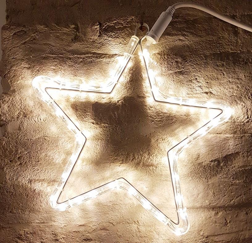 stella luminosa decorazione parete