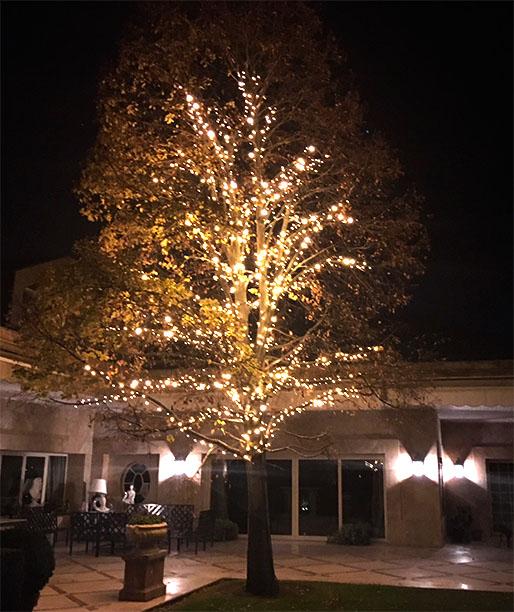 FOTO 5: Resultado final con el tilo con las luces encendidas