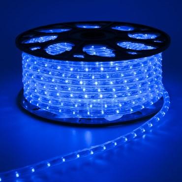 Manguera de luces Led azul 230V 45m