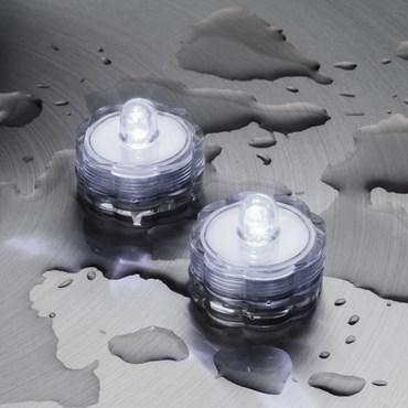 Set 2 Luces Led sumergibles blanco