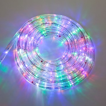 Tube lumineux, 13 mm, 230V, 8 m, led multicolor plus