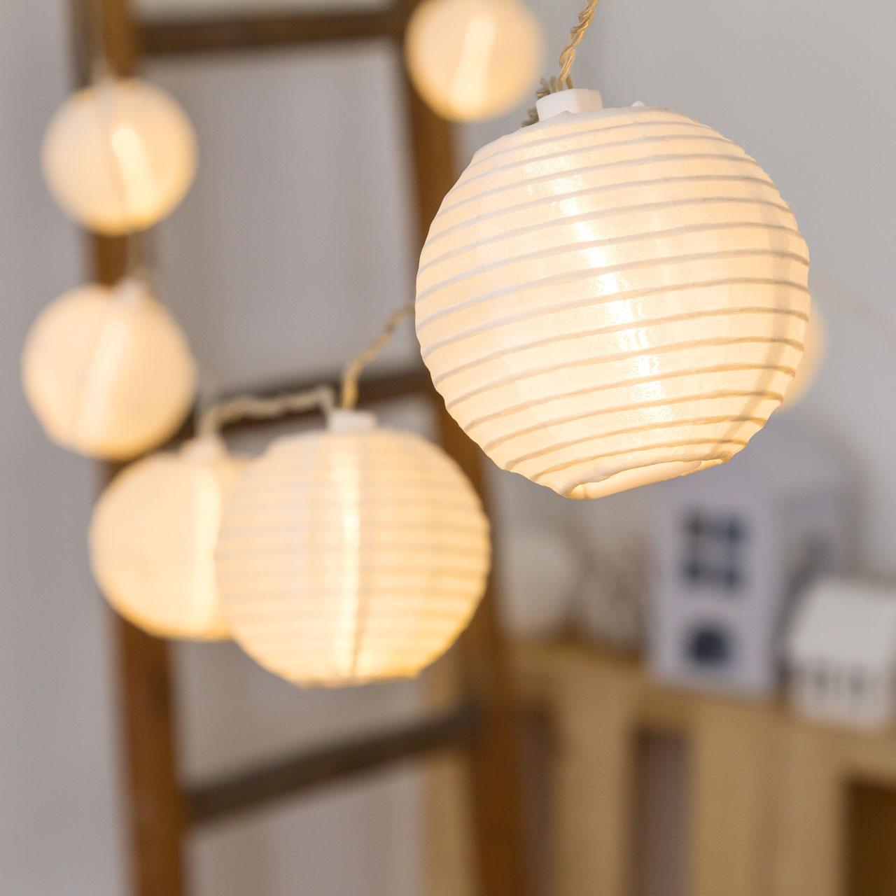 lampen mit kabel für lampions