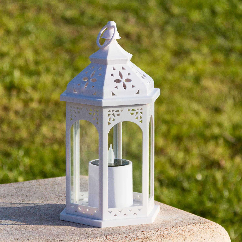 LANTERNA IN LEGNO CON VETRO CANDELE-Luce Vento Per Appendere-Decorazione da giardino Lampadario