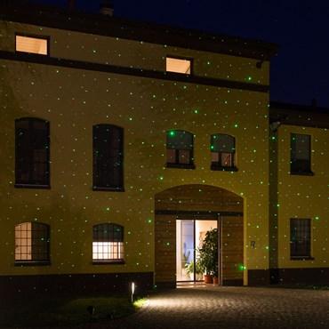 LASER-Projektor, grünes Licht
