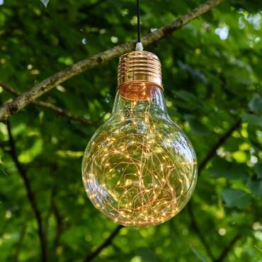 Lámpara Bombilla con luces Led Ø 21,5cm