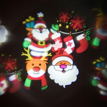 Set de 6 imágenes navideñas y fiesta Proyector Óscar (ref. 42759)