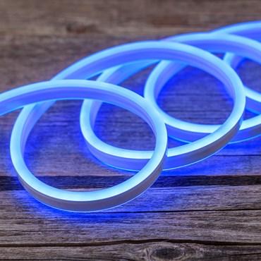 Tube lumineux effet néon double face, 8 mètres, 230V, 960 led bleu