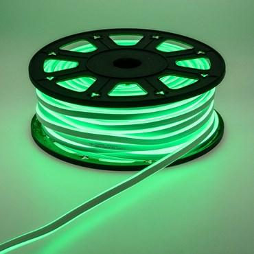 Manguera de luces Led Neón verde 230V 50m