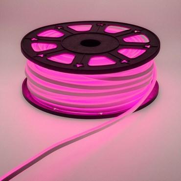 50m 6000 Pink LEDs Neon Flex Rope Lights, 16mm, 230V
