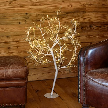 Árbol luminoso Olivo Led h. 1m