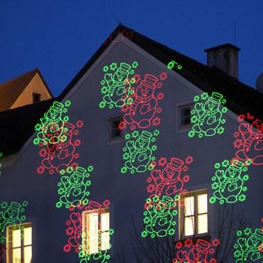 Proyector navideño Láser imágenes