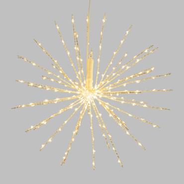 40cm White Twigball Branch Lights, 240 Warm White MicroLEDs