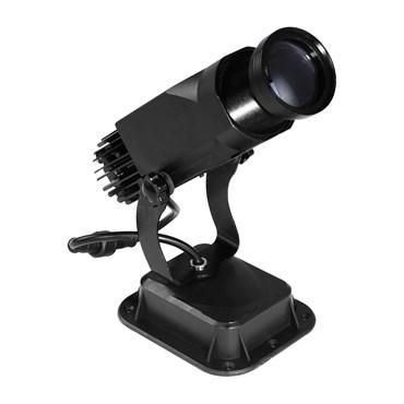 Projecteur professionnel led, 30 Watt, angle 15°, image statique, intérieur et extérieur