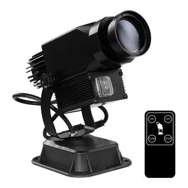 Proiettore professionale led, 30 Watt, angolo 15°, immagine fissa o rotante
