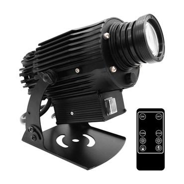 Proiettore professionale led, 40 Watt, angolo 30°, immagine fissa o rotante