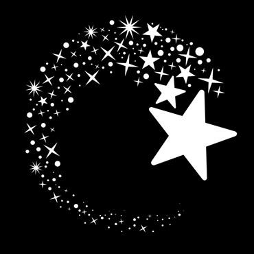 Gobo Estrellas Ø 37mm para Proyectores Led Pro
