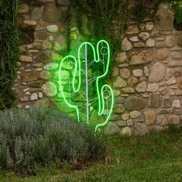 Cactus luminoso Led (I) efecto Neón h. 120cm