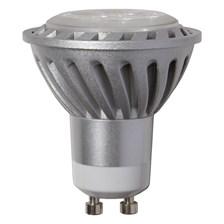 Lampadina a LED GU10, 4W, bianco caldo, faretto