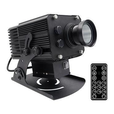 Professioneller LED-Projektor mit Schnee-Effekt, 200 Watt, Winkel 50°