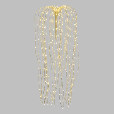 1.2m White Willow Branch Lights, 480 Warm White MicroLEDs
