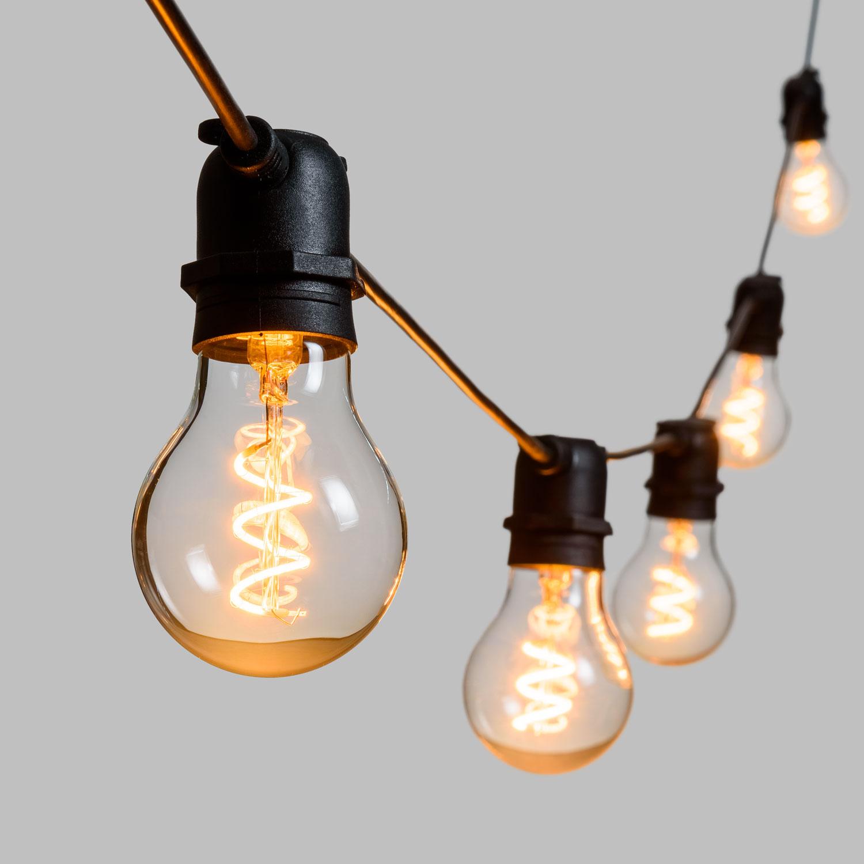 VINTAGE LED 36V, Vintage Glühbirnen Lichterkette mit LED