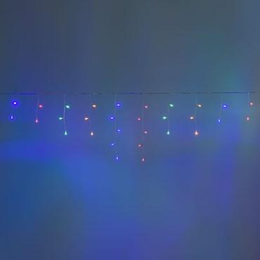Stalattite Smart Connect, 4 x h. 0,5 metri, 60 led multicolor, cavo bianco, prolungabile