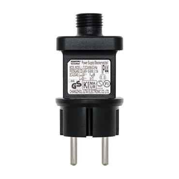 Transformateur pour lumières décoratives, 24 Volt DC, Max 6 Watt