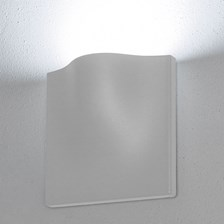 Lampada da parete, applique led bianco freddo, 15 W, colore bianco, uso esterno