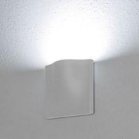 Lampada da parete, applique led bianco freddo, 7 W, colore bianco, uso esterno