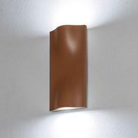 Lampada da parete, applique led bianco freddo, 14 W, color ruggine, uso esterno