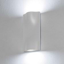 Lampada da parete, applique led bianco freddo, 14 W, colore bianco, uso esterno