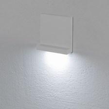 Faro da incasso a parete, segnapasso led bianco freddo, 3 W, colore bianco, uso esterno