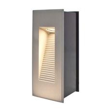 Faro da parete, segnapasso a LED bianco caldo, 3W, color grigio
