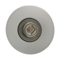 Minispot a LED bianco, 1W