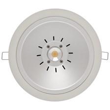 Faro da incasso a LED bianco, 20W, ghiera bianca