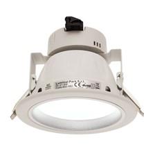 Faro da incasso a LED bianco freddo, 8W, ghiera bianca