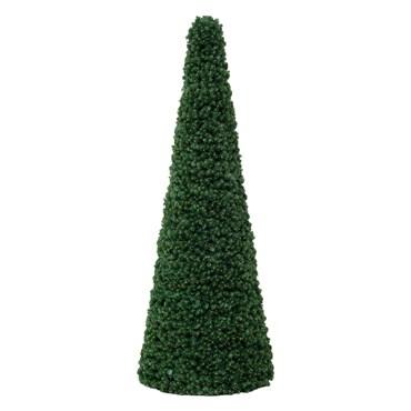 Cono profesional de pino verde, h. 300 cm, diám. 118 cm, estructura metálica