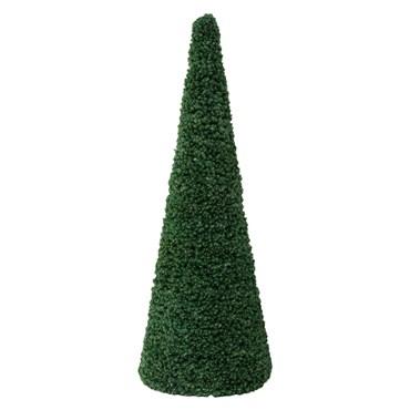 Cono profesional de pino verde, h. 400 cm, diám. 148 cm, estructura metálica