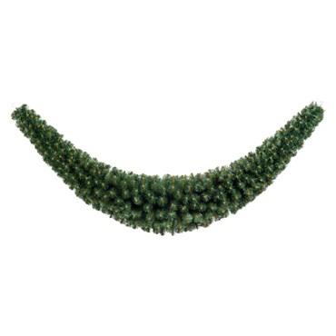 Professionelle künstliche Tannengirlande, 2,7 m, 618 Zweige, Ø 14-45 cm