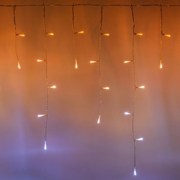 5 x 0.6m 190 LED Twinkly Smart App Controlled Icicle Lights, Special Edition