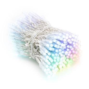 Twinkly Pro RGB Lichterkette 25 m, 250 LEDs, transparentes Kabel
