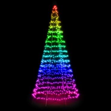 Twinkly Light Tree, 1000 LEDs, RGB Warmweiß, h 6 m
