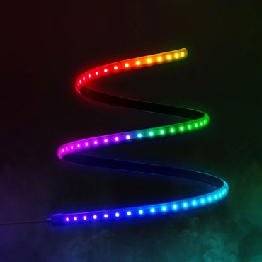 Twinkly Line RGB de 1,5 metros, 100 led, cable negro