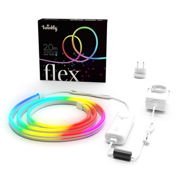 Twinkly Flex RGB, 2 m, weißes Kabel