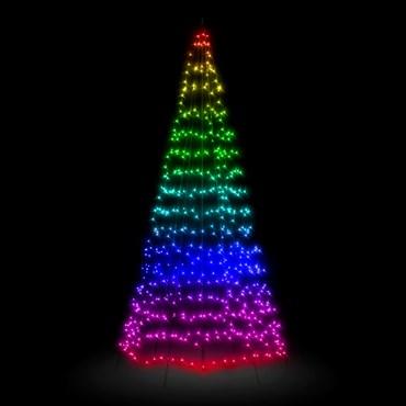 Árbol Twinkly Light Tree 450 led RGB y Blanco cálido, h. 3 metros
