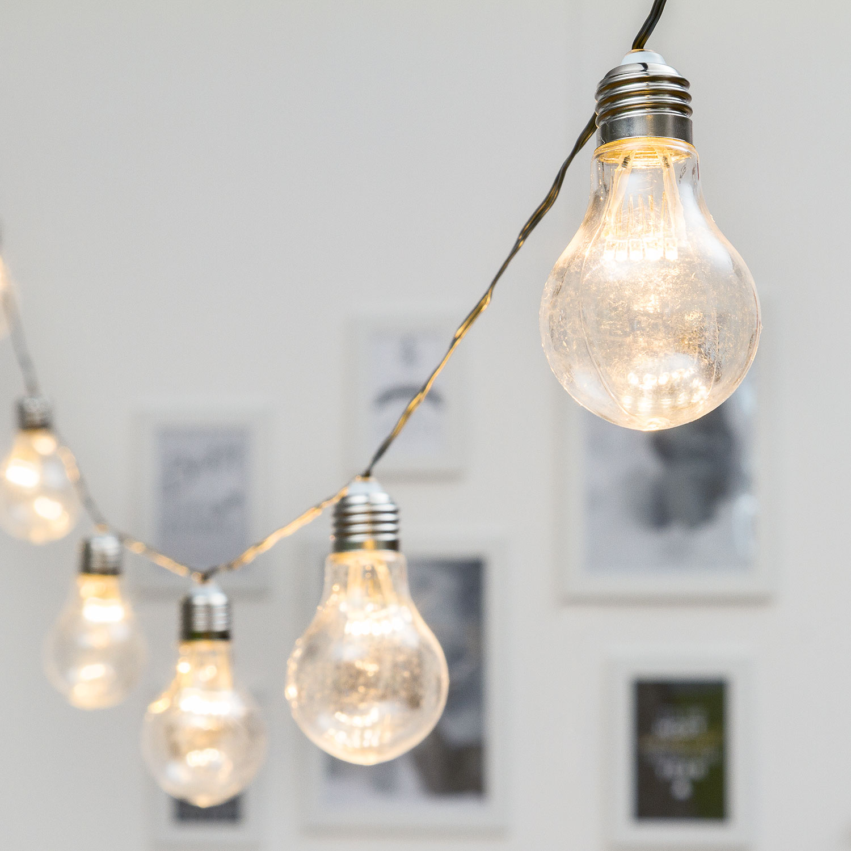 decorations du 8 mars ampoules vintage