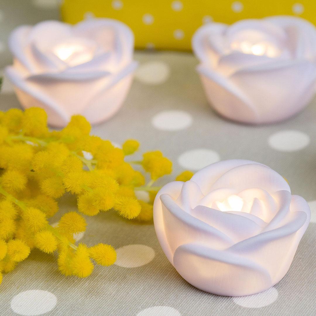 tealight decorations du 8 mars