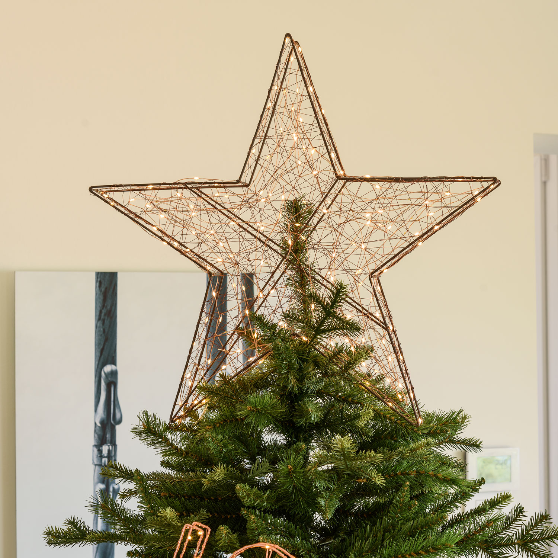 Stelle Di Natale Da Costruire puntali per alberi di natale 2019: idee semplici e fai da te